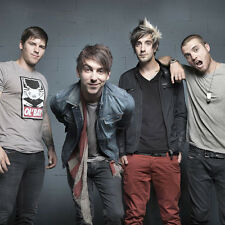 All Time Low Rock band Fabric Art Cloth Poster 13 inch x 13 inch Decor14