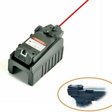 Tactical Pistol Red Laser Sight For Glock 17 18c 22 34 Series 20MM Low HOT SALE
