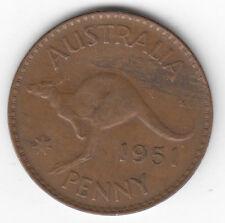 Australia Penny 1951