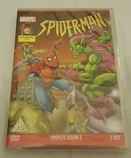 NEW & SEALED Spider-Man The Animated Series Complete Season 3 vol 1 & 2 1995 DVD