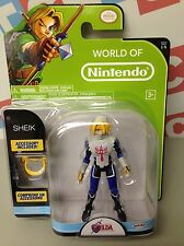 Jakks Pacific Mario World of Nintendo Wave 5 Series 5 The Sheik Zelda Figure 4""