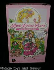 VINTAGE 1986 LADY LOVELY LOCKS COLORFORMS PIXIETAILS DOLLS PLAY SET GAME TOY