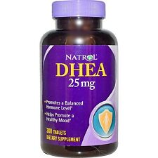 Natrol DHEA 25 mg 300 Tablets