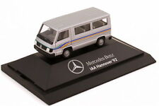 1:87 mercedes-benz 100d II autobús plata industrial europeo-ΑΙΑ Hannover 92 1992-Herpa