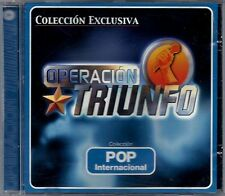 OPERACION TRIUNFO - Pop Internacional - SPAIN CD Vale Music 2002 - Chenoa, Rosa