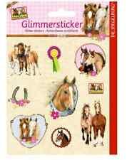 Glimmersticker Pferdefreunde 11992 Pferde  Spiegelburg neu
