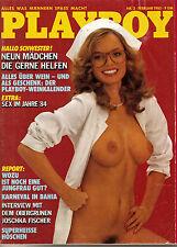 Playboy Februar/02/1985   *BIRTE BERG & YVONNE JÄGER*