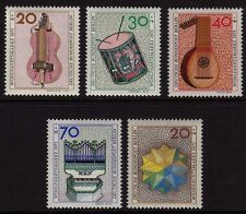 Germany Berlin 1973 Humanitarian Relief + Christmas SG B443/B447 MNH