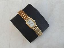 Gorgeous Vintage Working Women's Seiko Gold Tone Quartz Watch 4N00-5071