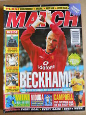MATCH Magazine 21-10-2000 David Beckham - Poster Mark Viduka  [P63]