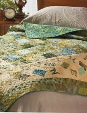 Code To Live By Quilt Pattern Pieced/Applique BG