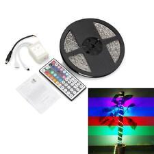 Tira Luz Cinta Impermeable 300 LED SMD 3528 DC 12V RGB 5m Con Mando A Distancia