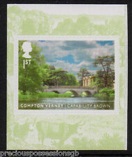 GB QEII MNH Booklet Stamp 2016 CAPABILITY BROWN COMPTON VERNEY S/A 10% OFF 5+