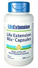 Life Extension Mix Capsules - Multi-Nutrient Formula - 100 Capsules