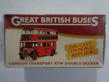 Atlas Editions London Transport RTW Double Decker Bus. With  Fact File & Poster.