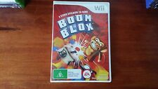 Boom Blox A Steven Spielberg and EA Game (Nintendo Wii) Complete PAL Kids