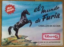 Album El mundo de Furia. Caballos en accion - Panrico