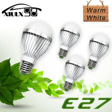 4X High Power E27 E26 5W 5730 LED Light Warm White Home office Lamps Bulbs DC12V