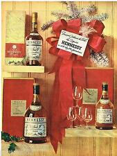 PUBLICITE ADVERTISING 095  1962  HENNESSY   cognac