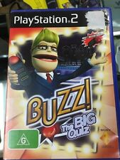 buzz the big quiz PS2