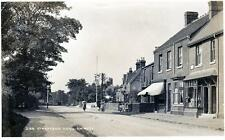 Stratford Road Shirley Post Office Birmingham RP old pc used 1909 Geo E Lewis