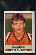 (Gq490-407) Sun, Soccer Sticker 90-91, #334 Hamish French, Dundee United 1990 EX