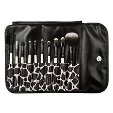 10tlg. Make Up Kosmetik Pinsel Set mit Etui Schminkpinsel Profi Hypoallergen NEU