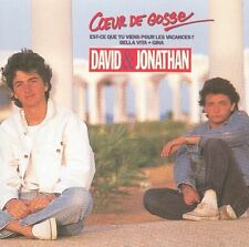 CD David & Jonathan - Coeur de gosses et RARE