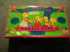 SIMPSONS PINBALL MACHINE W/BOX 1990  RARE  HTF