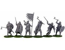 Resin model kit Vikings miniatures 40mm toy soldiers
