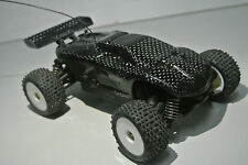 LOSI 1/24 4WD MICRO TRUGGY REAL CARBON FIBER 2XCFLCONCEPT BODY SPOILER COMBO