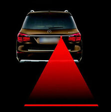 Car Auto LED Anti-collision Laser Rear Safety Signal Indicator Fog Taillight Red