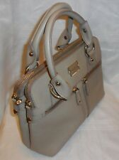 Modalu England Classic Pippa Grab Bag Pebble Leather - Mink - rrp £220