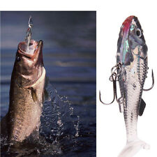 New Silicone Soft Lures Worm Fishing Baits Bass Trout Shad Bait Crank Swim Bait