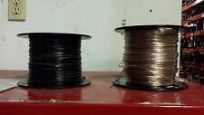Speaker wire 22 awg - 22/2 Black or Clear - 1000 ft.