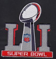 """SUPER BOWL 51 PATCH LIMITED EDITION COLOR """"NFL"""" SUPERBOWL LI  PATRIOTS $5.89!!"""