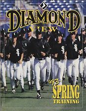 1993 CHICAGO WHITE SOX SPRING TRAINING BASEBALL PROGRAM