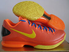 NIKE KD V ELITE TEAM ORANGE-TOUR YELLOW-PHOTO BLUE SZ 12 [585386-800]