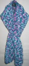 New Handmade Knitted Blue Ribbon Woman's Fashion Scarf