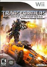 NEW/SEALED TRANSFORMERS DARK OF THE MOON STEALTH FORCE EDT NINTENDO WII GAME