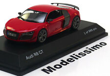 1:43 Schuco Audi R8 GT Coupe 2011 red