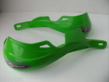 Progrip Fatbar & 22mm Hand Guards Enduro Motocross Green Kx Kxf Kdx Klx Kmx Kle