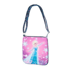 Disney Frozen Elsa Crossbody Bag Purse Handbag Heart Charms Ice Princess NWT