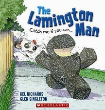 THE LAMINGTON MAN Catch me if you Children's Picture Reading Story Book Richards
