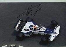 Nelson Piquet Brabham BT52 Monaco Grand Prix 1983 Signed Photograph