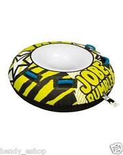 New! JOBE RUMBLE 1 PERSON RIDER TOWABLE INFLATABLE TUBE SKI BOAT RINGO