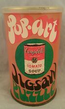 Collectible vintage 1968 Pop-Art Jigsaw Puzzle  Campbell's Soup BRAND NEW SEALED