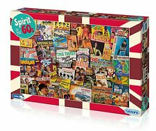 GIBSONS SPIRIT OF THE 60s 1000 PIECE SIXTIES NOSTALGIA JIGSAW PUZZLE NEW G7082