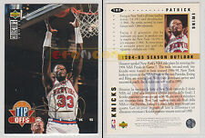 NBA UPPER DECK 1994 COLLECTOR'S CHOICE - Patrick Ewing #183 Gold Signat. Ita/Eng