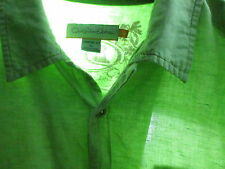 Quik Silver Edition | Mens | XL | Light Green | Confort Fit | Button Front | LN
